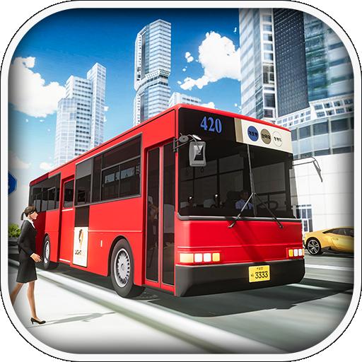Coach Bus Driving Simulator 2019 - School Bus Game ()