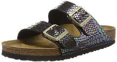 6212e3fab3eb94 BIRKENSTOCK Damen Arizona Birko-Flor Pantoletten  Amazon.de  Schuhe ...