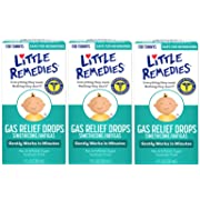 Little Remedies Gas Relief Drops | Berry Flavor | Safe For Newborns | 1 FL OZ | 3 Pack
