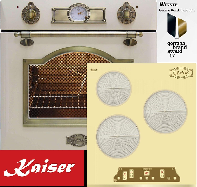 Juego de cocina retro Autark Kaiser Empire marfil/montaje ...