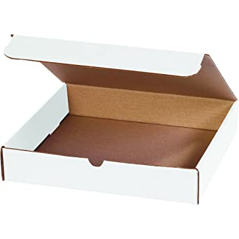 -Cajas para envío de documentos de BOX USA, color blanco