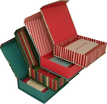 Christmas gift card holders in cardboard