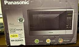 Amazon Com Panasonic Nn Su656w Countertop Microwave Oven