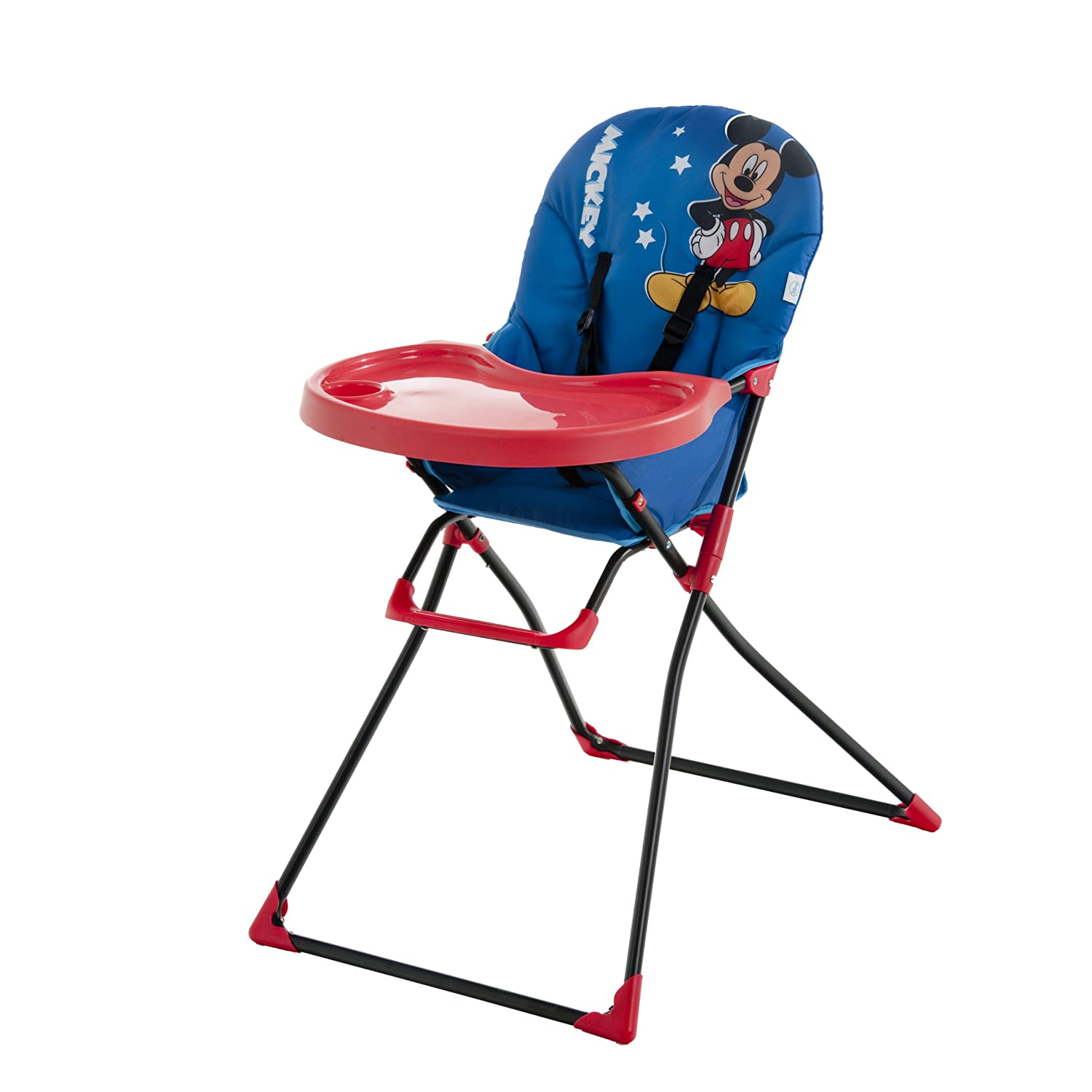 Disney Baby Mac Baby High Chair Mickey Blue Amazon Baby