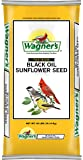 Wagner's 76029 Black Oil Sunflower Seed, 40-Pound Bag