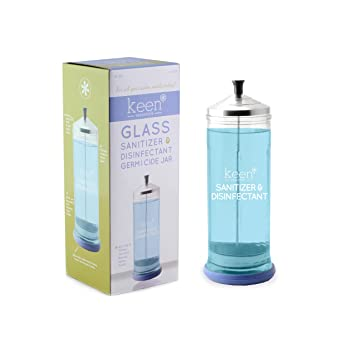 Amazon.com: Sanitizer desinfectante tarro de vidrio para ...