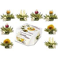 Creano ErblühTeelini mieszanka herbat rozkwitających w ekskluzywnym formacie filiżankowym - 8 herbat rozkwitających w 4…