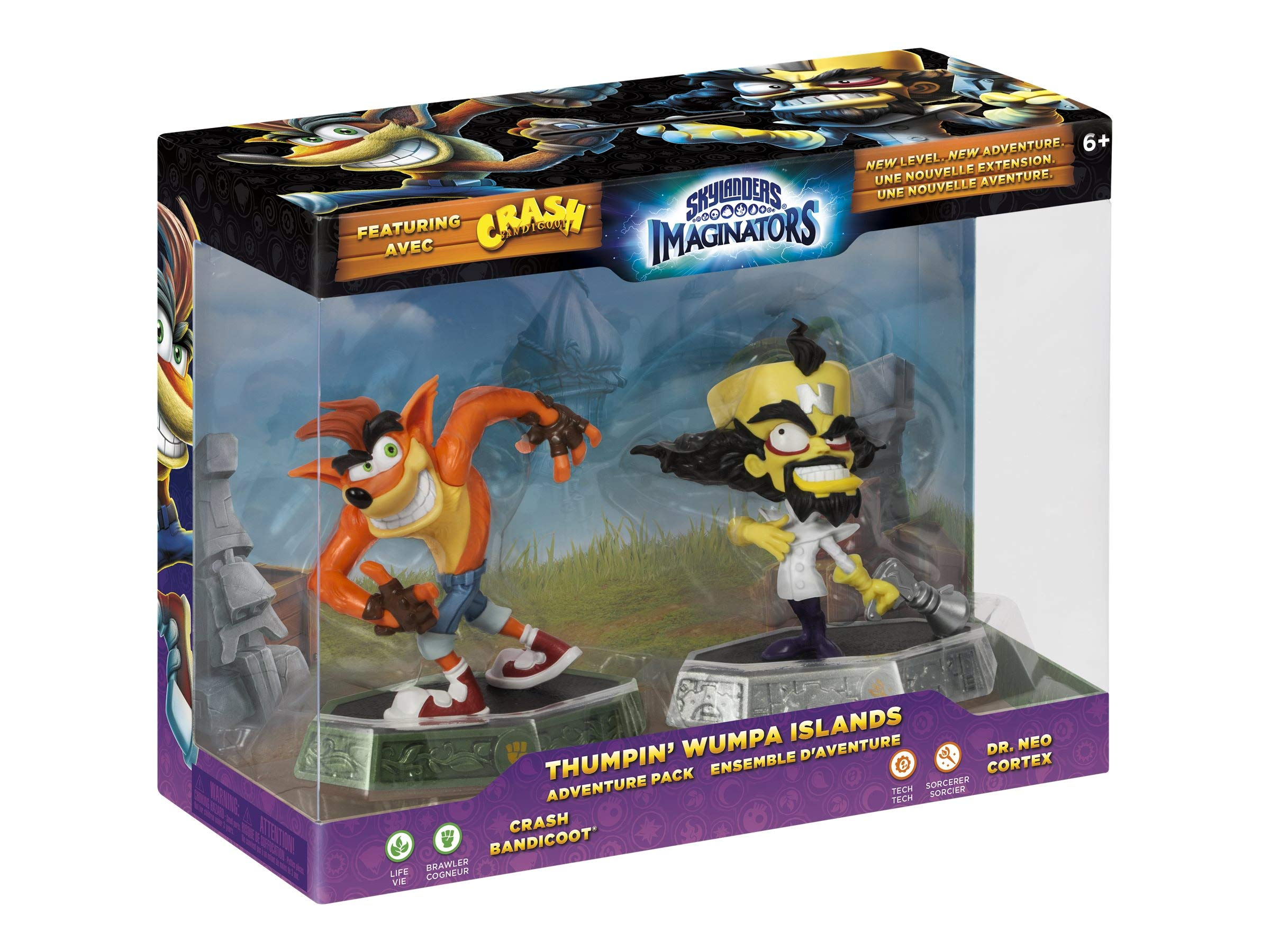 Skylanders Imaginators Crash Bandicoot Thumpin Wumpa Islands- Adventure Pack