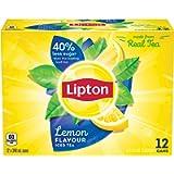 Lipton Lemon Iced Tea, 12 x 340 milliliters