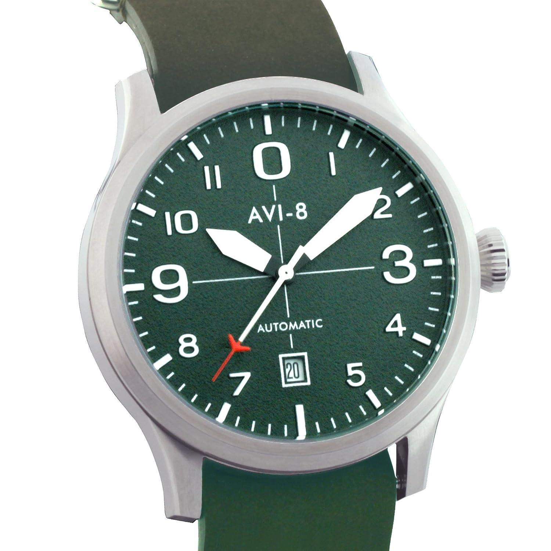 avi-8 Armbanduhr Luftfahrt Englisch Flyboy Aviator Schalter mit drei Zeiger