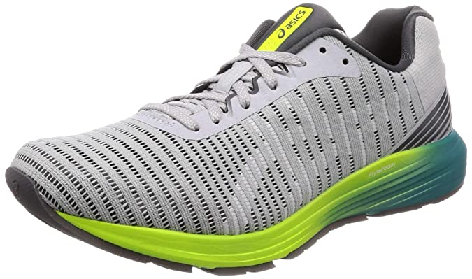 Asics Dynaflyte 3, Zapatillas de Running para Hombre, Gris (Mid Grey/White 021), 40 EU: Amazon.es: Zapatos y complementos