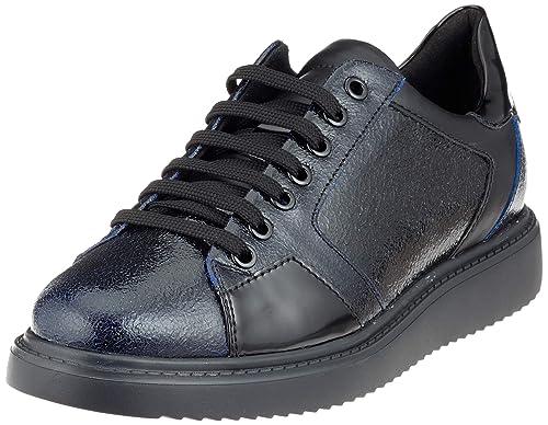 Geox D Thymar E, Sneakers Basses Femme: