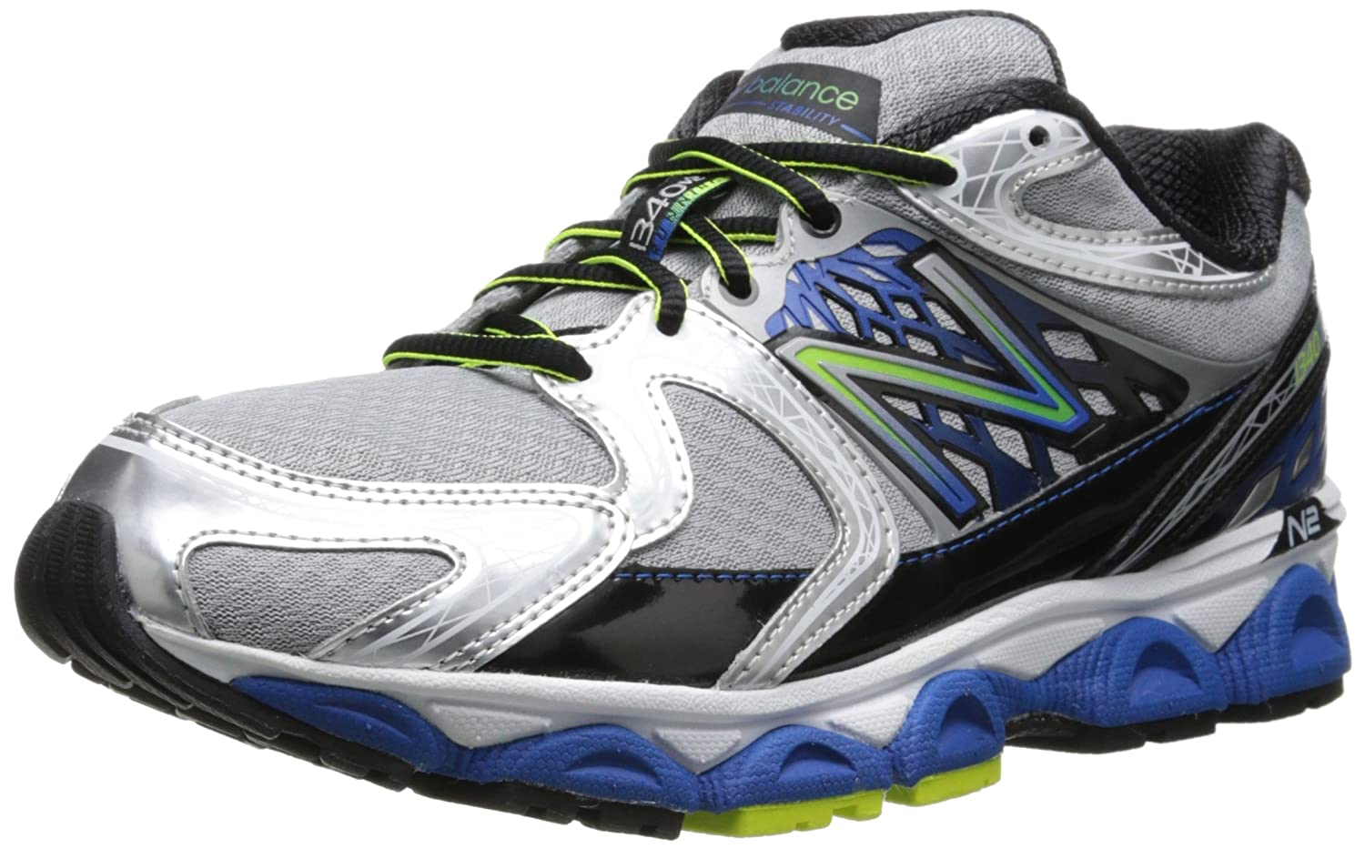 New Balance Men's M1340 Optimal Control Running Shoe B00GY2C76S 8 D(M) US|Blue/Silver