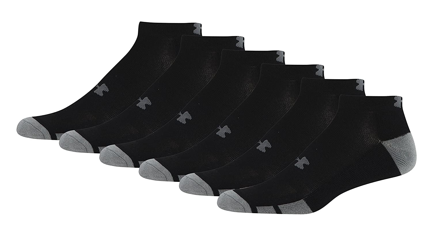3ed8b69669f under armour socks men's white : Under Armour Men's Resistor Low-Cut Socks  (6