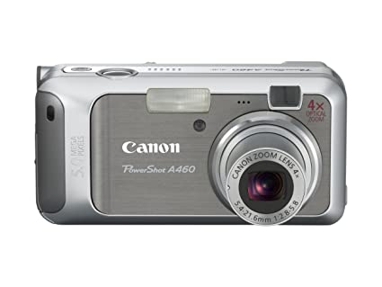 amazon com canon powershot a460 5 0mp digital camera with 4x rh amazon com Canon Camera User Manual Canon A-1 User Manual in Print