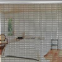 Aluminio Metal Cadena Cortina Cadenas pesticidas cortina–Cortina