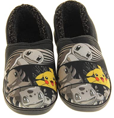 Pokemon Pikachu Men's Slippers (L): Amazon.co.uk: Shoes & Bags