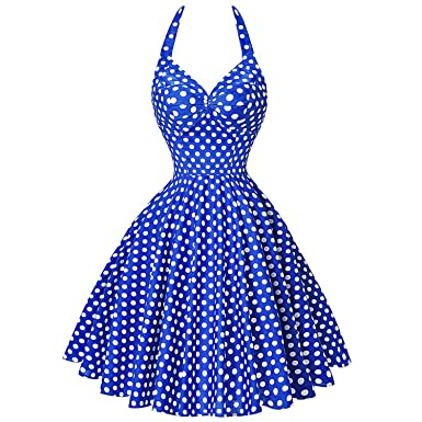 Women Rockabilly 50s 60s Dress Audrey Hepburn Vestidos s Retro Vintage Dress Big Size,1