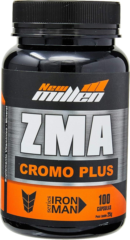 ZMA Cromo - 100 Cápsulas, New Millen por New Millen