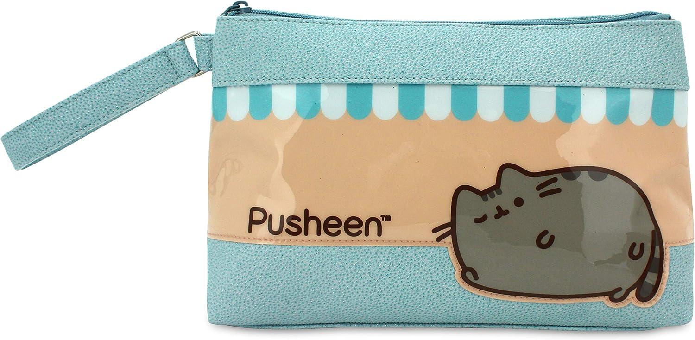 Neceser para niña Pusheen The Cat Estuche/Neceser Relax Rectangular, tamaño Mediano.: Amazon.es: Equipaje