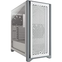 Corsair CS-CC-9011201-WW 4000D Airflow Tempered Glass Mid-Tower Case, White