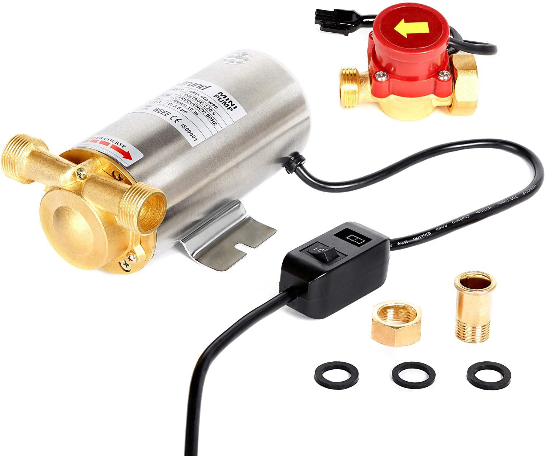 90W Nordstrand Presión de agua Aumento Booster Pump Diafragma automático para ducha y jardín