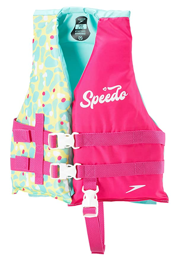 Speedo Child Life Jacket, Bright Pink, 1SZ best children's vest