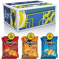 Doritos Tortilla Chips UEFA Champions League Multi Box (Chilli Heatwave, Tangy Cheese & Cool Original) , Doos 6 stuks x 180 g