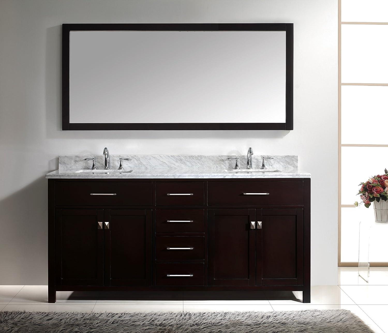 Virtu Usa Md Wmsq Es Caroline Inch Bathroom Vanity With