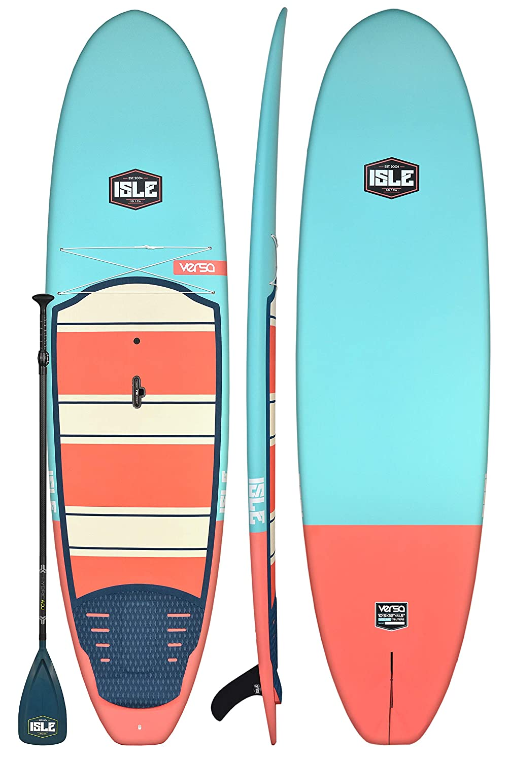 """ISLE 10'5"""" or 11'2"""" Versa   Rigid Stand Up Paddle Board"""