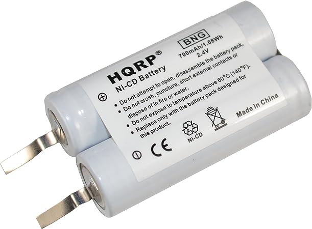 HQRP batería para Philips Norelco 6863 X L, 6865 X L 6866 X L ...
