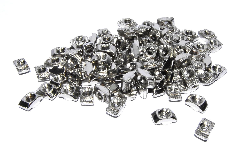100pcs M3 T Nut CNC 2020 Frame Aluminium 3D Printer Silver