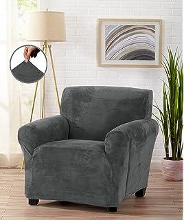 Amazon.com: Form Fit, Slip Resistant, Stylish Furniture Cover ...