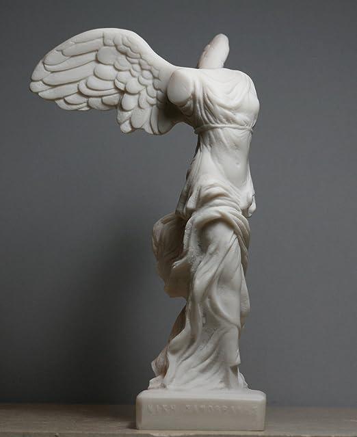 calificación abuela canción  Escultura alada de Nike Victory of Samothrace Diosa griega Alabastro  Estatua de 7.8 pulgadas: Amazon.com.mx: Hogar y Cocina