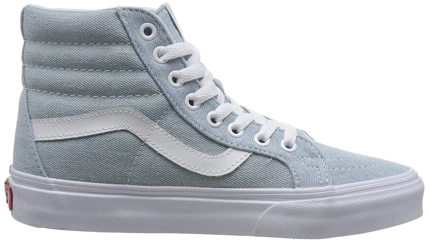 VANS MENS SK8 HI REISSUE LEATHER US SHOES B076CV26VK 6 D(M) US LEATHER / 7.5 B(M) US|Baby Blue dbbdfc