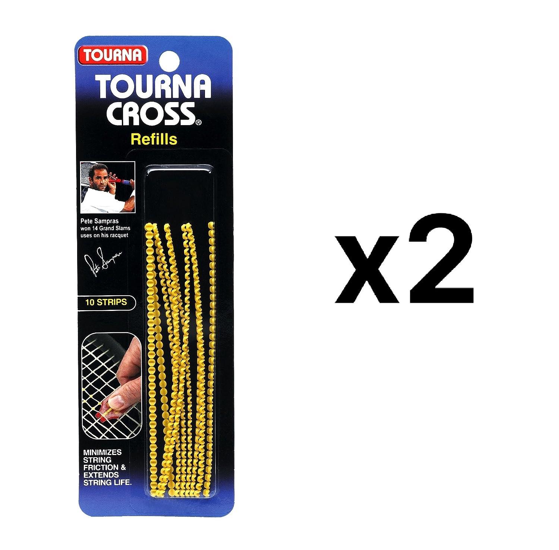 一意Tourna Crossサンプラステニスラケット文字列saver-refills-10パック( 2 2 ) B01LW84V35 - Pack ) B01LW84V35, ASPO アスリート:ea14d659 --- cgt-tbc.fr