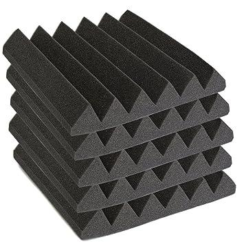 D/ämmung 30 * 30 * 5cm?Akustik Schaumstoff Acoustics Studio-D/ämmplatten Akustikschaumstoff