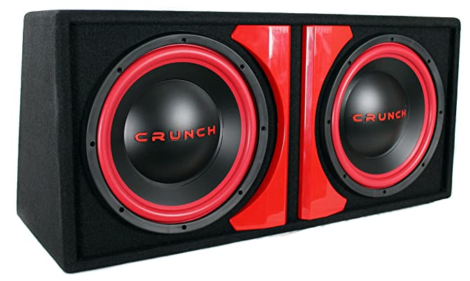 CRUNCH CR212A CR-212A Powered Dual-12 Subwoofer System