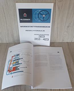 Werkstatthandbuch Regelhydraulik IHC 323 353 423 auch für den 383 453 Hydraulik