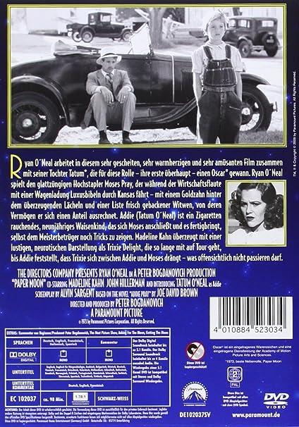Paper Moon [Alemania] [DVD]: Amazon.es: Ryan ONeal, Tatum O ...