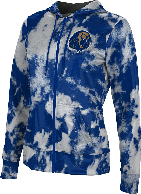 University of Arkansas-Fort Smith Girls Zipper Hoodie School Spirit Sweatshirt Grunge