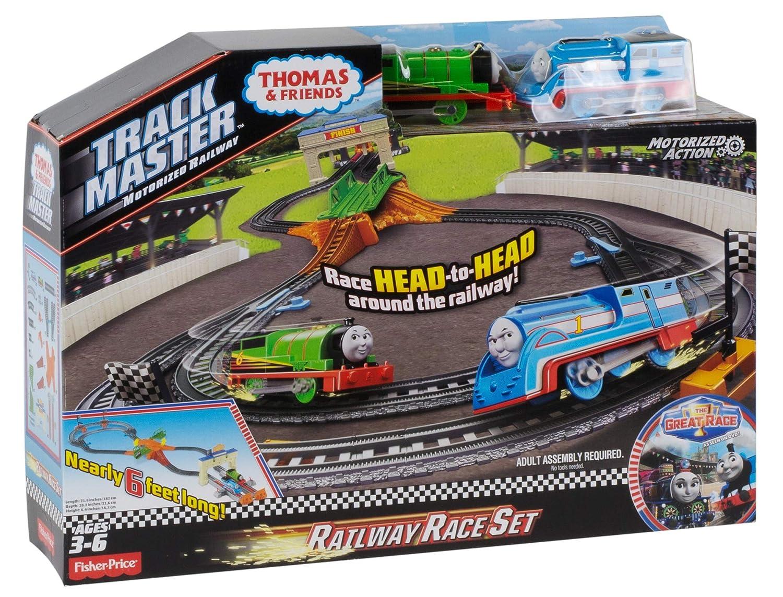Fisher-Price Thomas & Friends TrackMaster Thomas/Percy's Railway Race Set Mattel DFM53