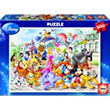 Educa - 13289 - Puzzle Carton Wd 200 Defile Disney