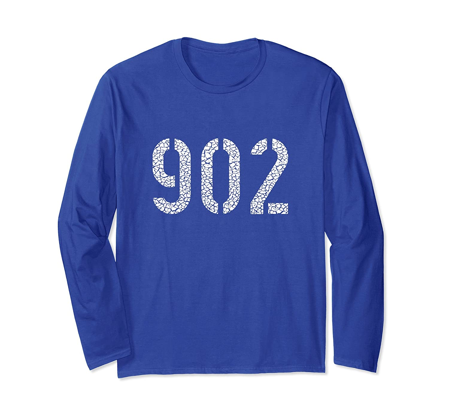 902 Area Code Long Sleeve TShirt | Novia Scotia Canada - Tee-mt