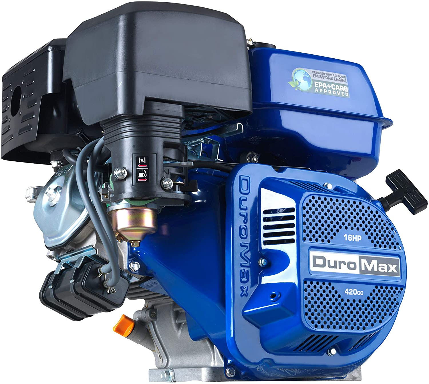 Duromax XP16HP Shaft Recoil Start 16 HP Engine,Blue