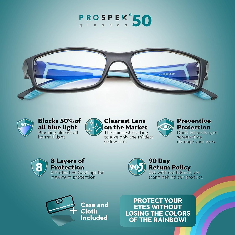 3206a8c45f4 PROSPEK Computer Glasses   Anti Blue Light Glasses - Peak.  Anti-Glare