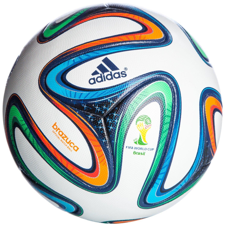 adidas Brazuca Official Match Football, Size 5 Match Balls