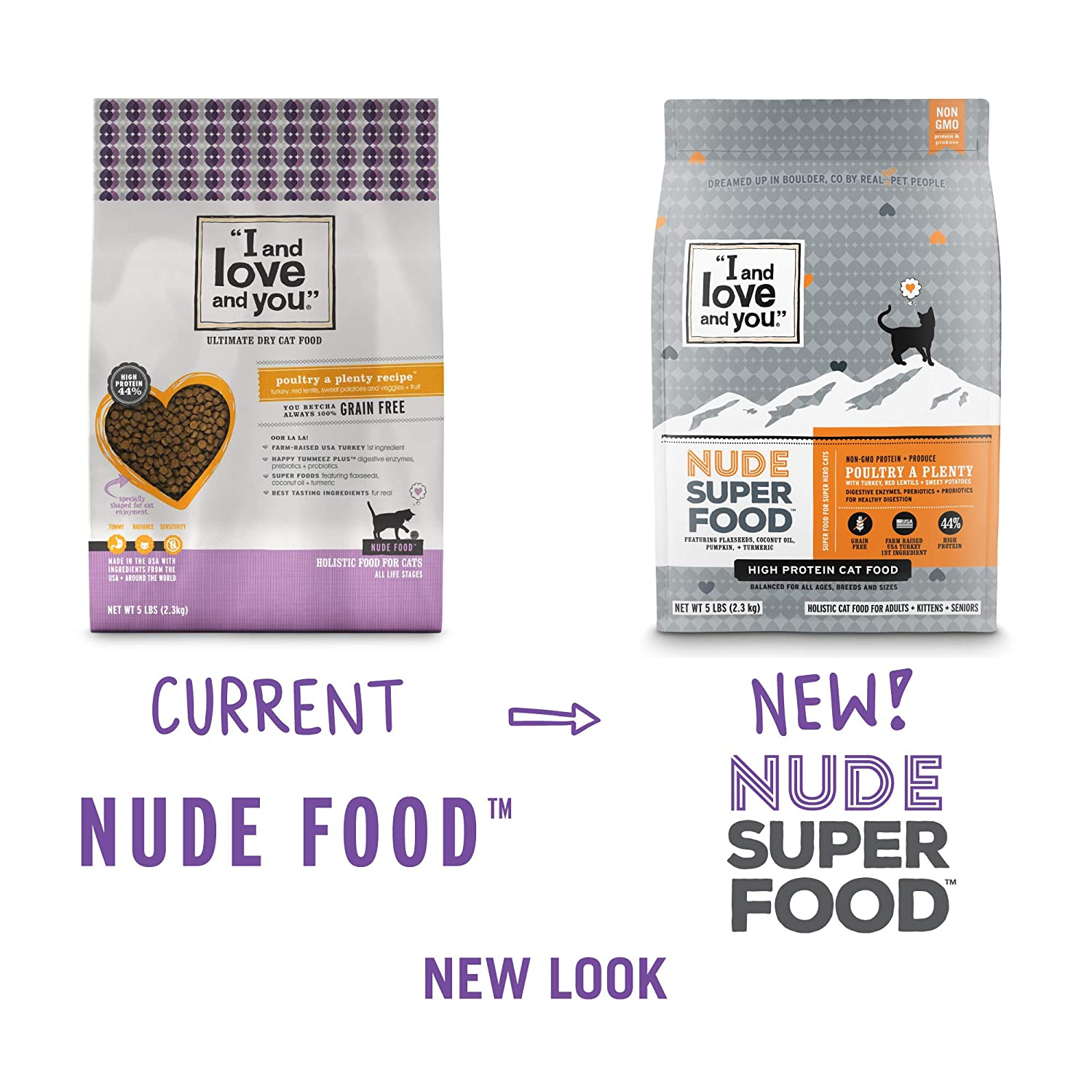 """I and love and you"" Nude Food Poultry A Plenty Grain Free"