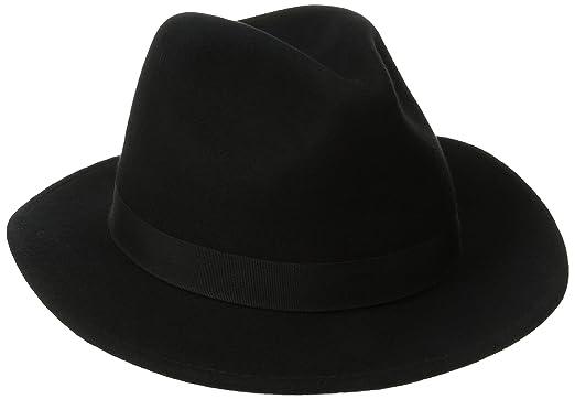 15ad1594 SCALA Classico Men's Crushable Felt Safari Hat at Amazon Men's ...
