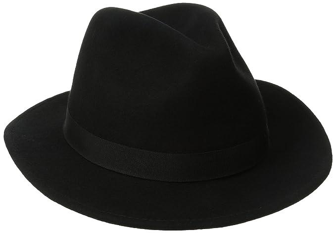 ebe7fbabd1a SCALA Classico Men s Crushable Felt Safari Hat at Amazon Men s ...
